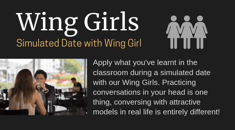 Simulated Date with Wing Girl